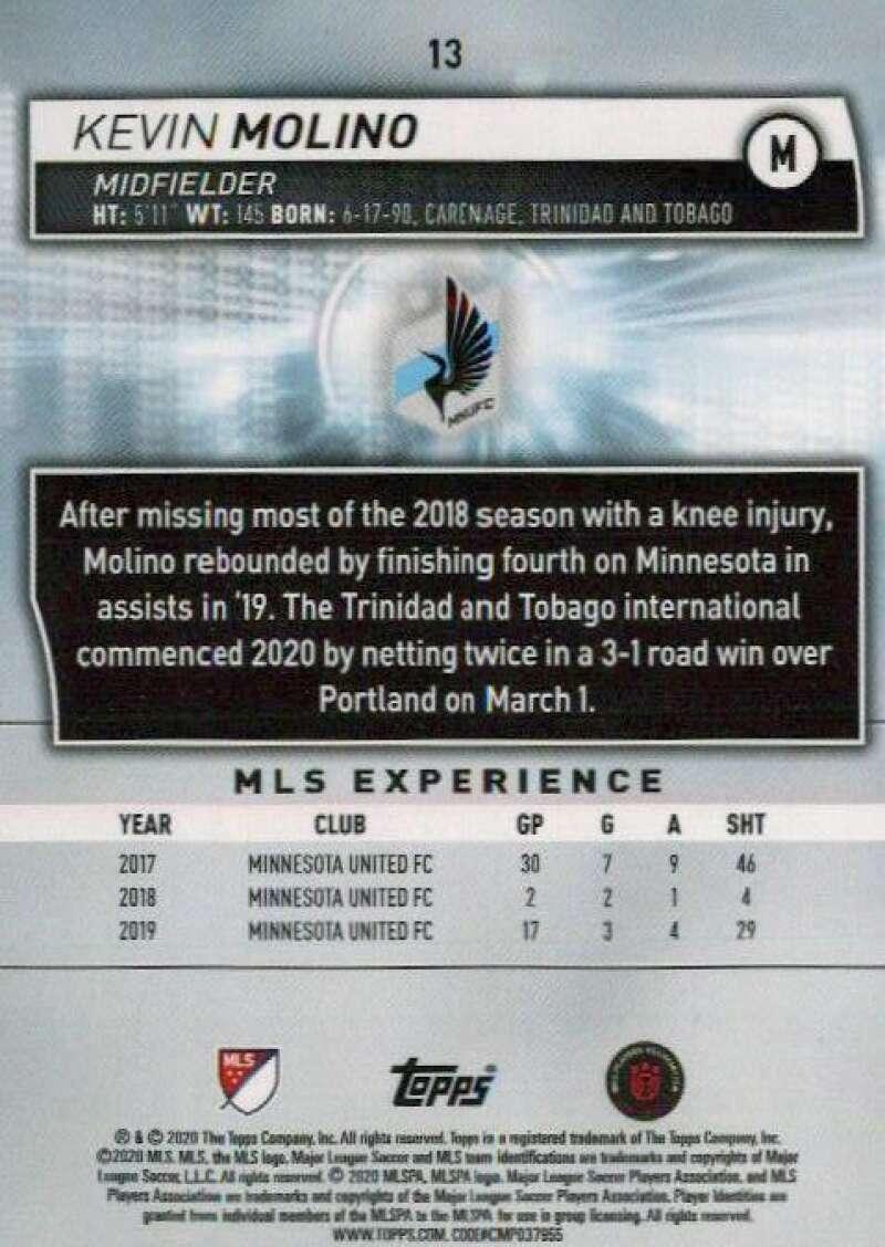 thumbnail 26 - 2020 Topps MLS Soccer Base Singles (Pick Your Cards)