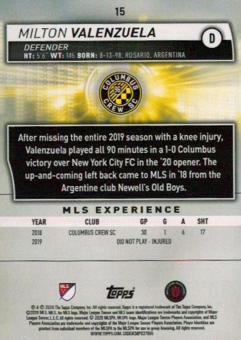 thumbnail 30 - 2020 Topps MLS Soccer Base Singles (Pick Your Cards)