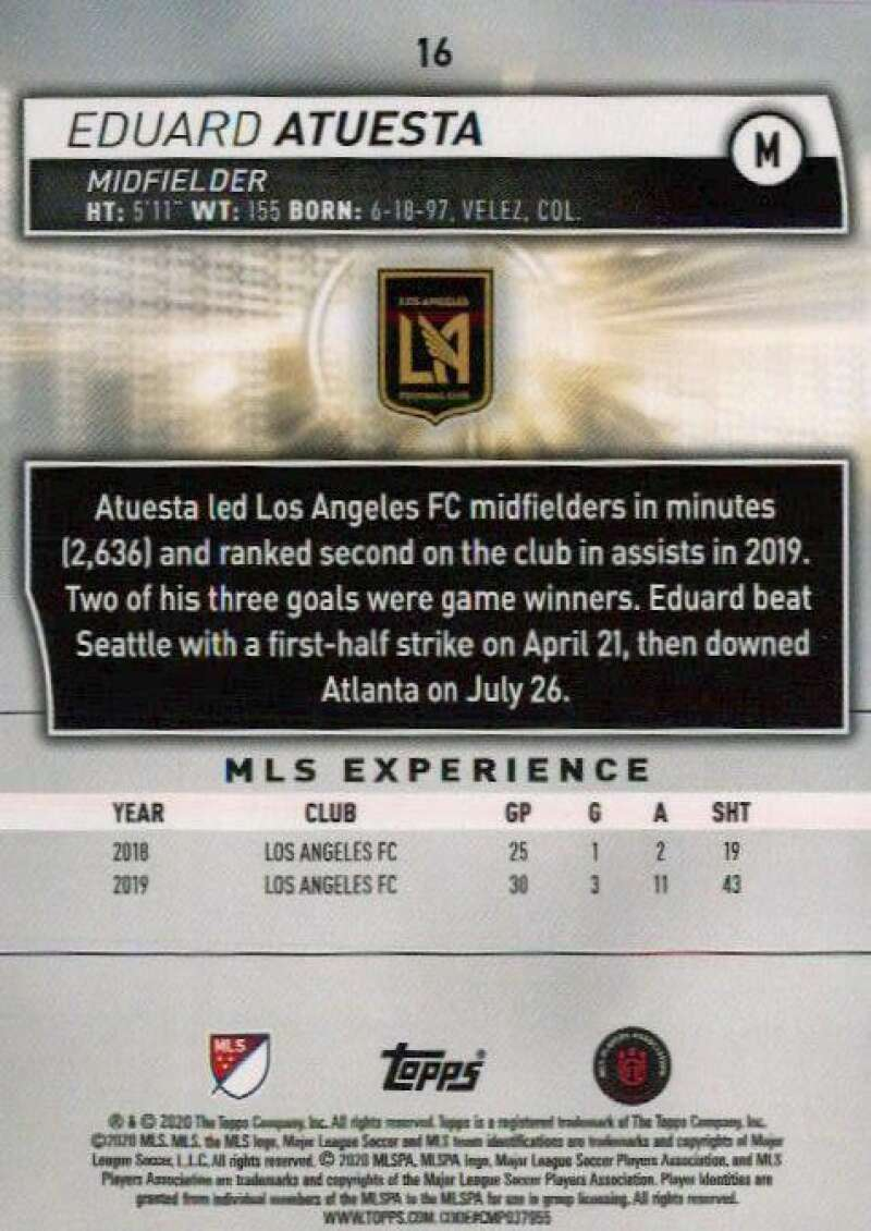 thumbnail 32 - 2020 Topps MLS Soccer Base Singles (Pick Your Cards)