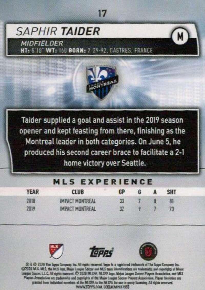 thumbnail 34 - 2020 Topps MLS Soccer Base Singles (Pick Your Cards)