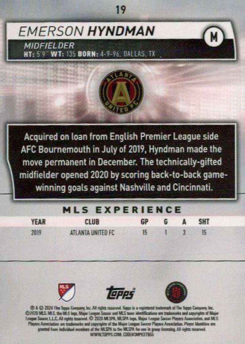 thumbnail 38 - 2020 Topps MLS Soccer Base Singles (Pick Your Cards)