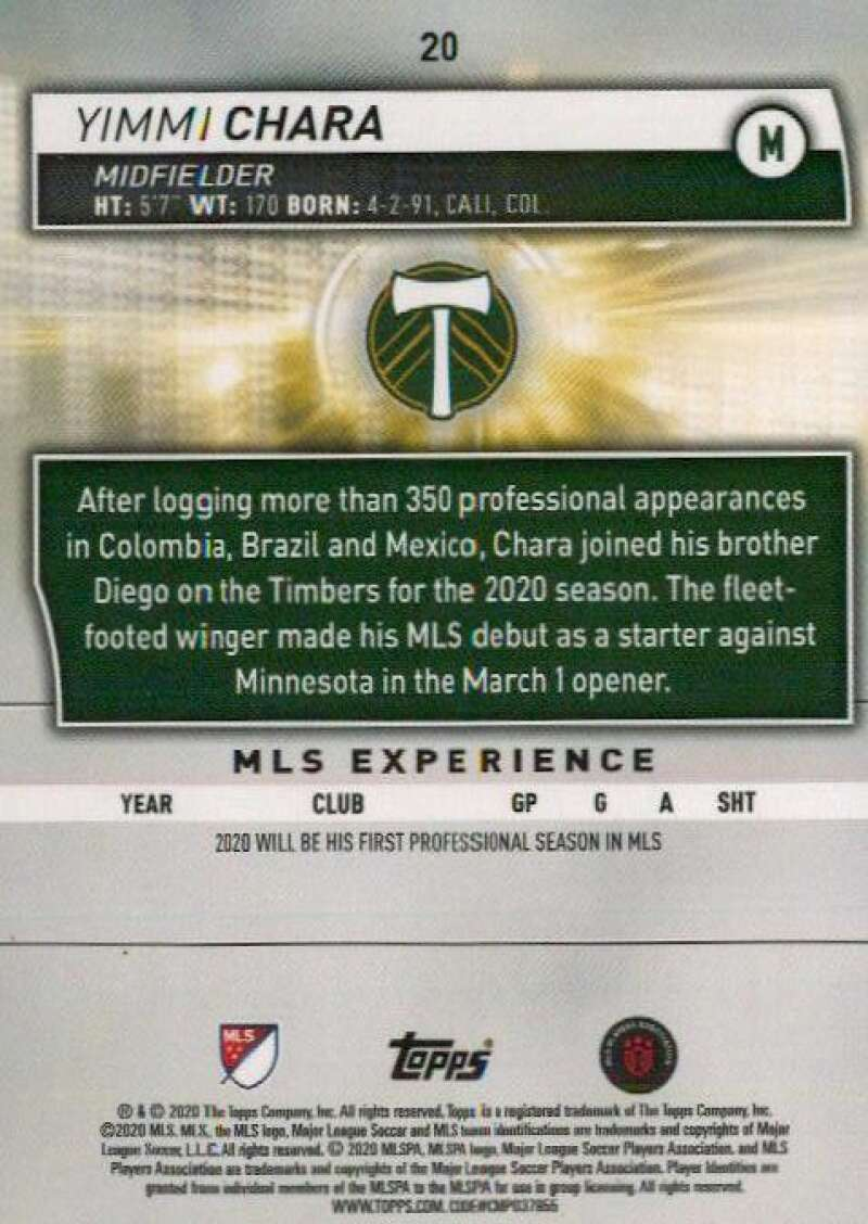thumbnail 40 - 2020 Topps MLS Soccer Base Singles (Pick Your Cards)