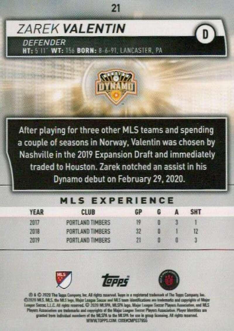 thumbnail 42 - 2020 Topps MLS Soccer Base Singles (Pick Your Cards)
