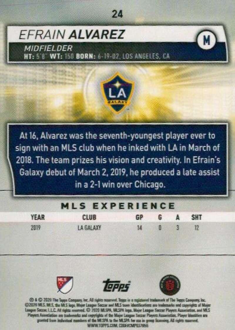 thumbnail 48 - 2020 Topps MLS Soccer Base Singles (Pick Your Cards)