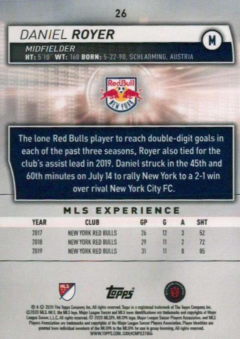 thumbnail 52 - 2020 Topps MLS Soccer Base Singles (Pick Your Cards)