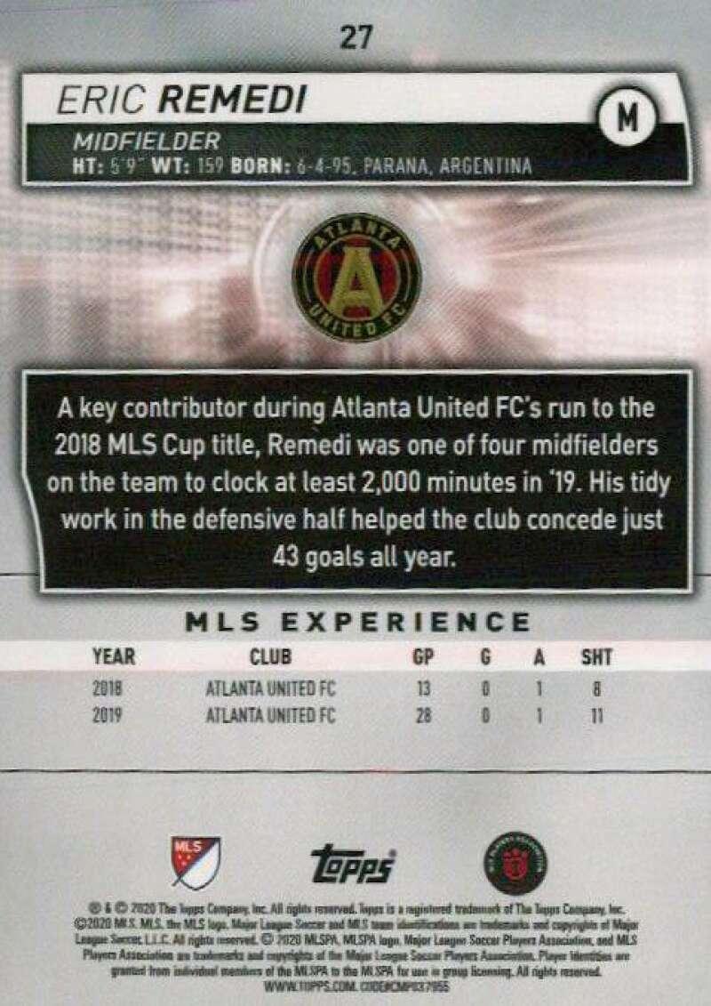 thumbnail 54 - 2020 Topps MLS Soccer Base Singles (Pick Your Cards)