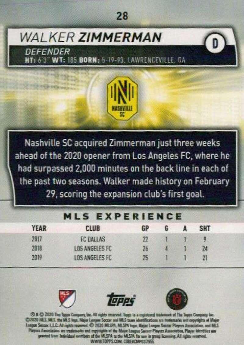 thumbnail 56 - 2020 Topps MLS Soccer Base Singles (Pick Your Cards)