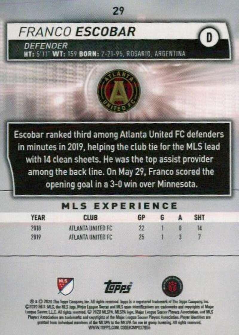 thumbnail 58 - 2020 Topps MLS Soccer Base Singles (Pick Your Cards)