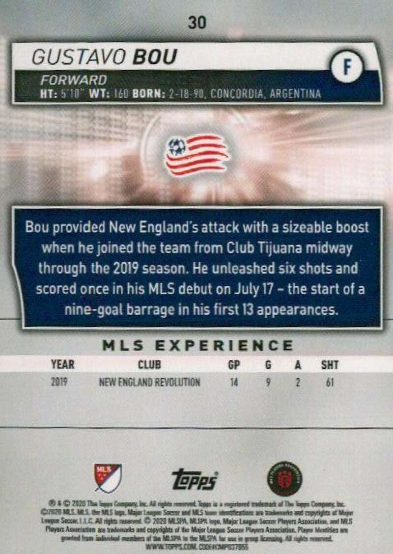 thumbnail 60 - 2020 Topps MLS Soccer Base Singles (Pick Your Cards)