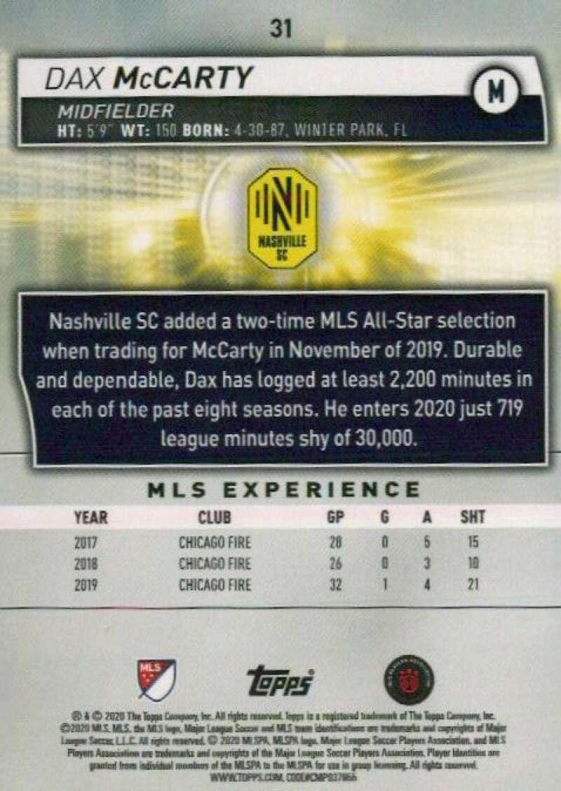 thumbnail 62 - 2020 Topps MLS Soccer Base Singles (Pick Your Cards)