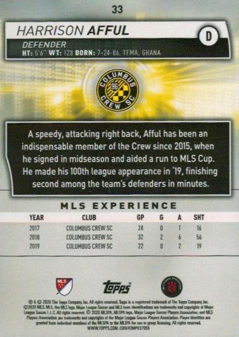 thumbnail 66 - 2020 Topps MLS Soccer Base Singles (Pick Your Cards)