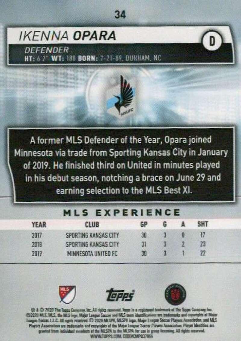 thumbnail 68 - 2020 Topps MLS Soccer Base Singles (Pick Your Cards)