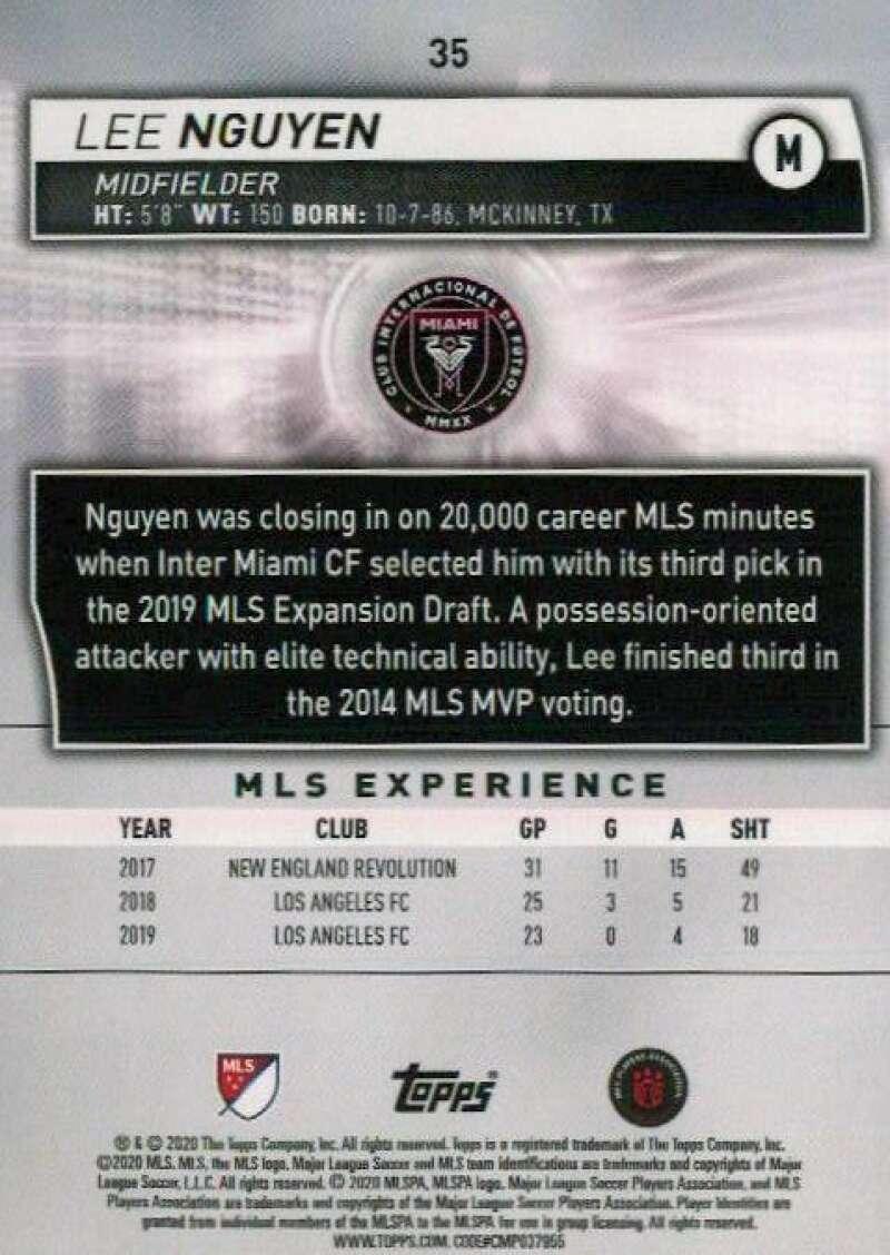 thumbnail 70 - 2020 Topps MLS Soccer Base Singles (Pick Your Cards)