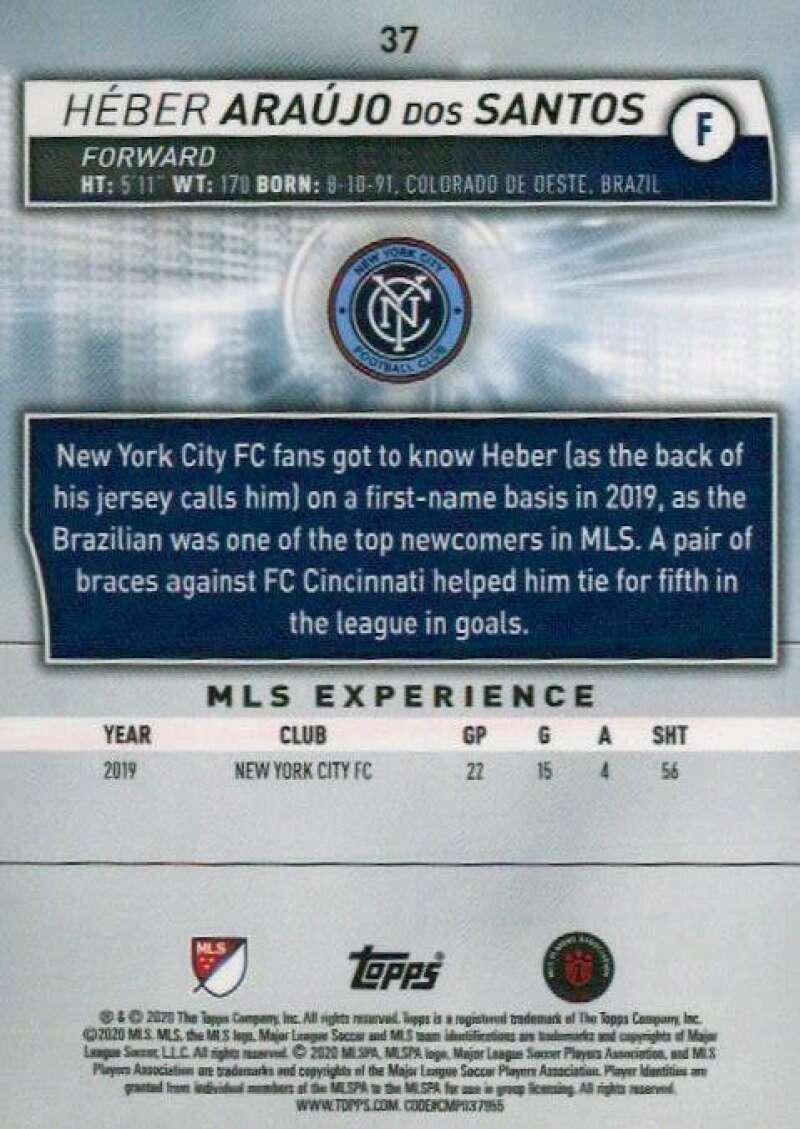 thumbnail 74 - 2020 Topps MLS Soccer Base Singles (Pick Your Cards)