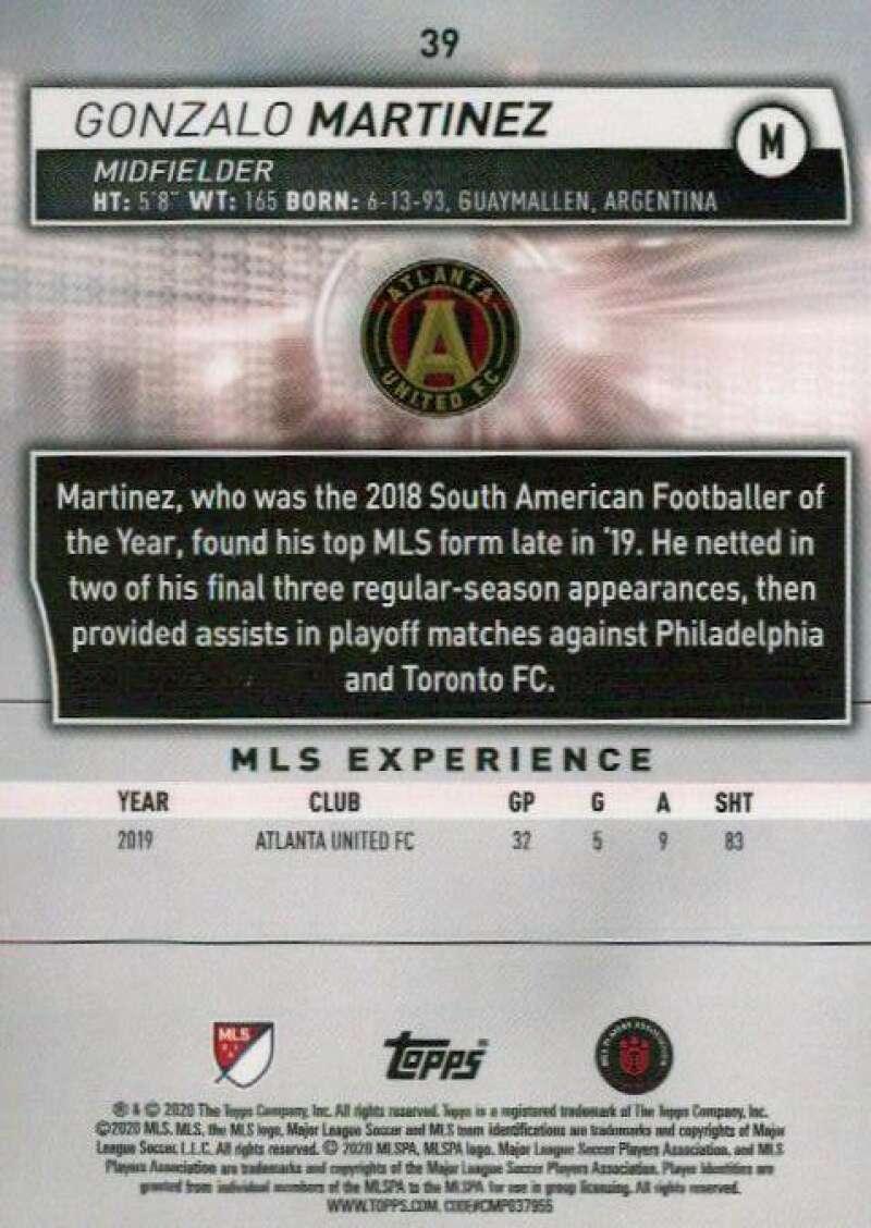 thumbnail 78 - 2020 Topps MLS Soccer Base Singles (Pick Your Cards)
