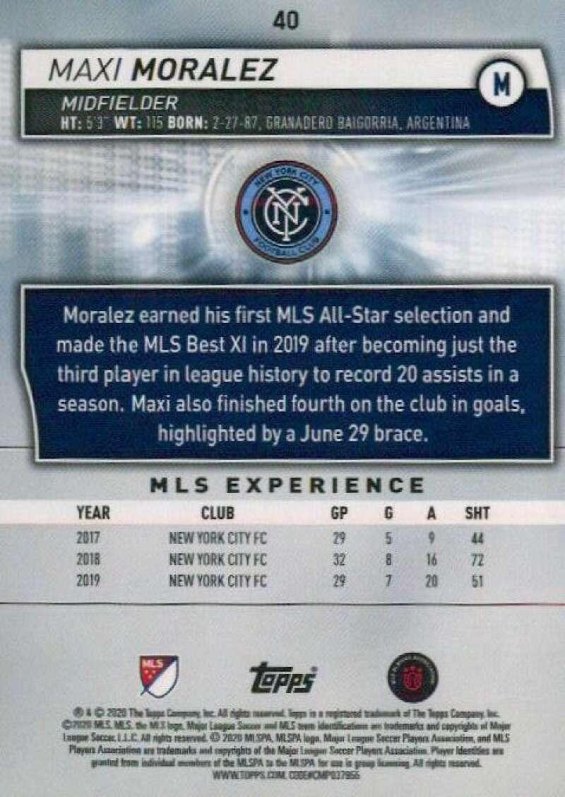 thumbnail 80 - 2020 Topps MLS Soccer Base Singles (Pick Your Cards)