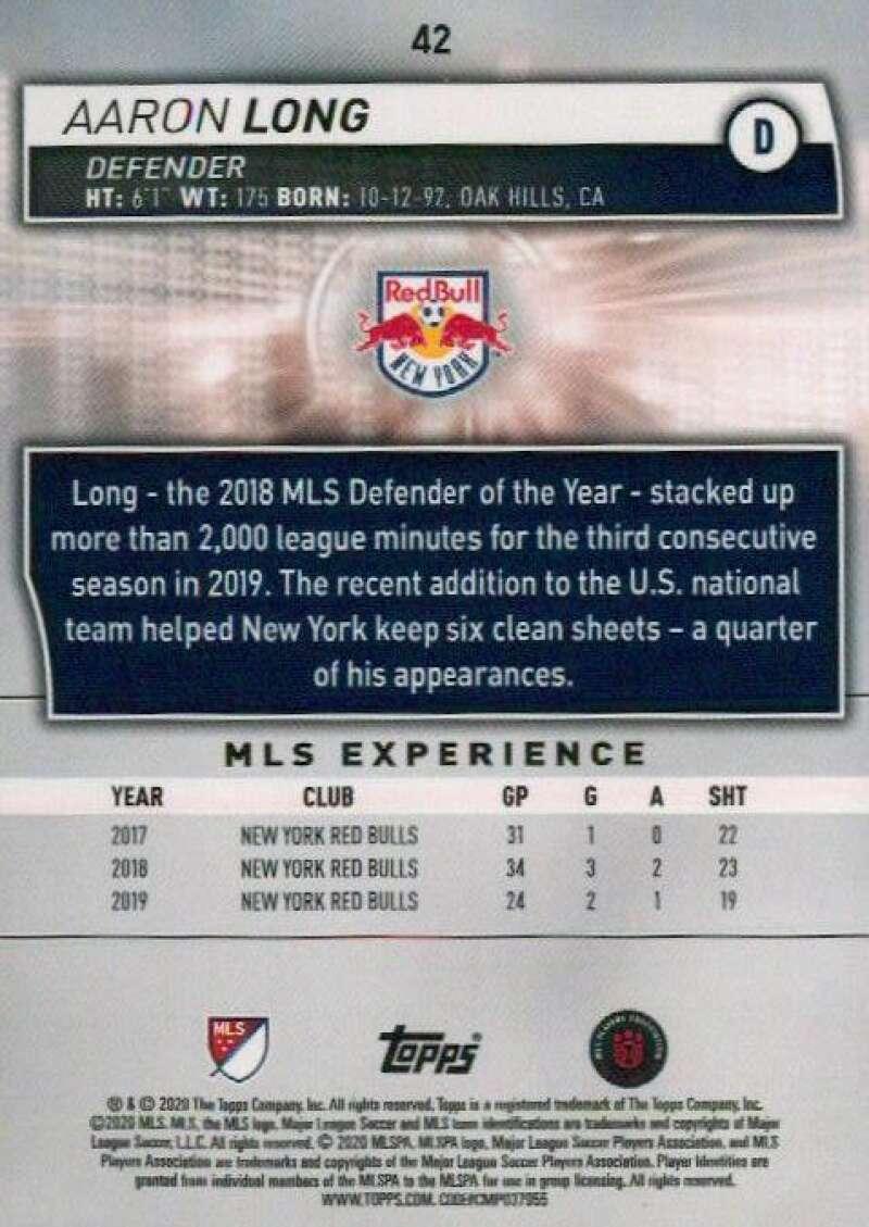 thumbnail 84 - 2020 Topps MLS Soccer Base Singles (Pick Your Cards)