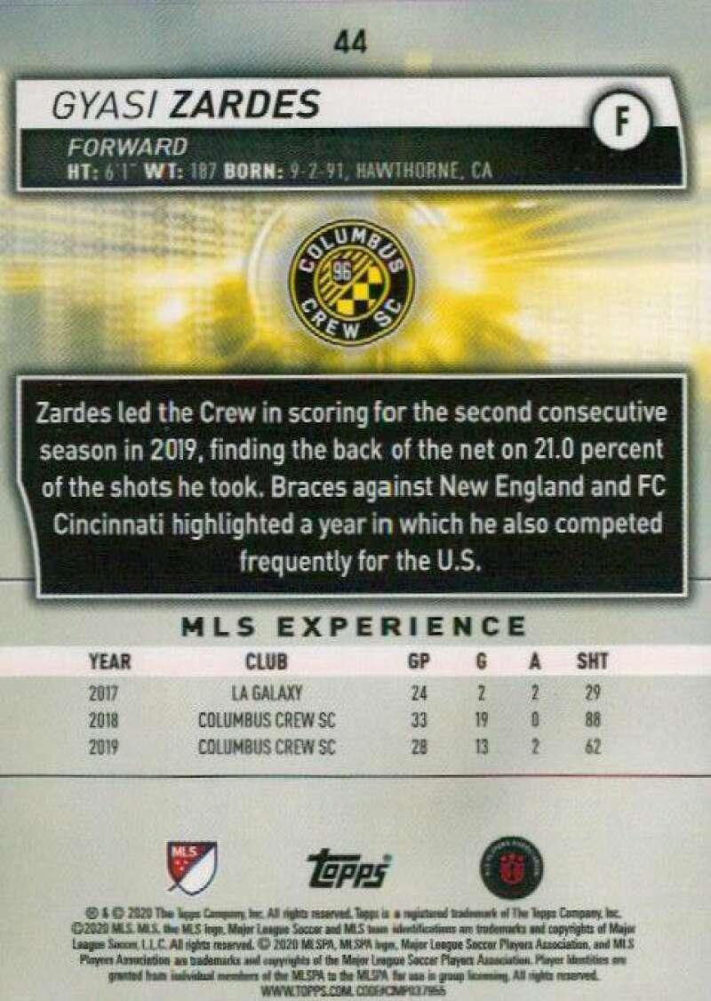 thumbnail 88 - 2020 Topps MLS Soccer Base Singles (Pick Your Cards)