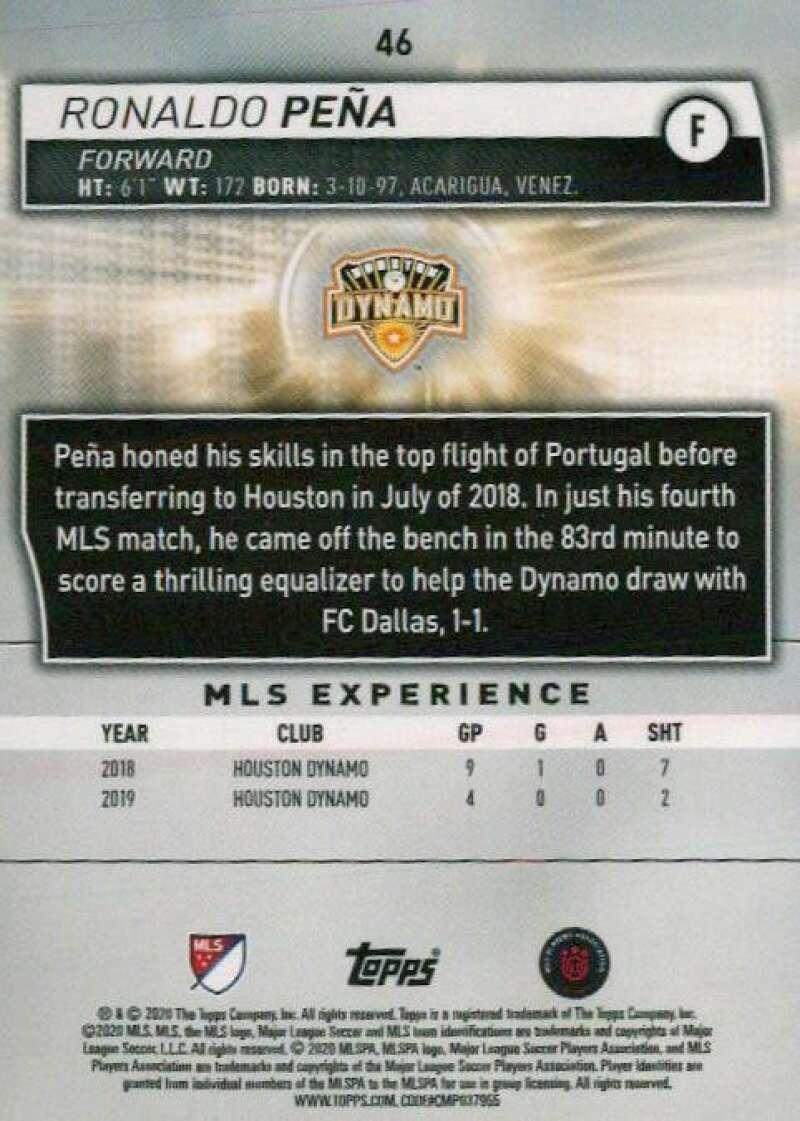thumbnail 92 - 2020 Topps MLS Soccer Base Singles (Pick Your Cards)