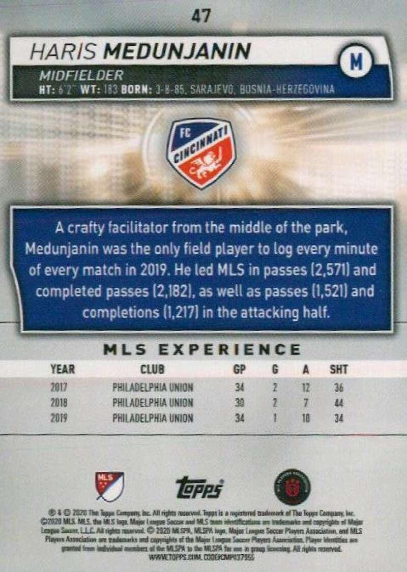 thumbnail 94 - 2020 Topps MLS Soccer Base Singles (Pick Your Cards)