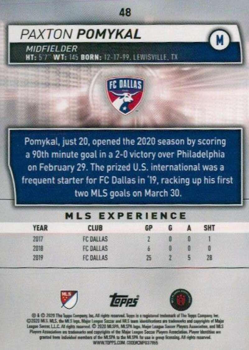 thumbnail 96 - 2020 Topps MLS Soccer Base Singles (Pick Your Cards)