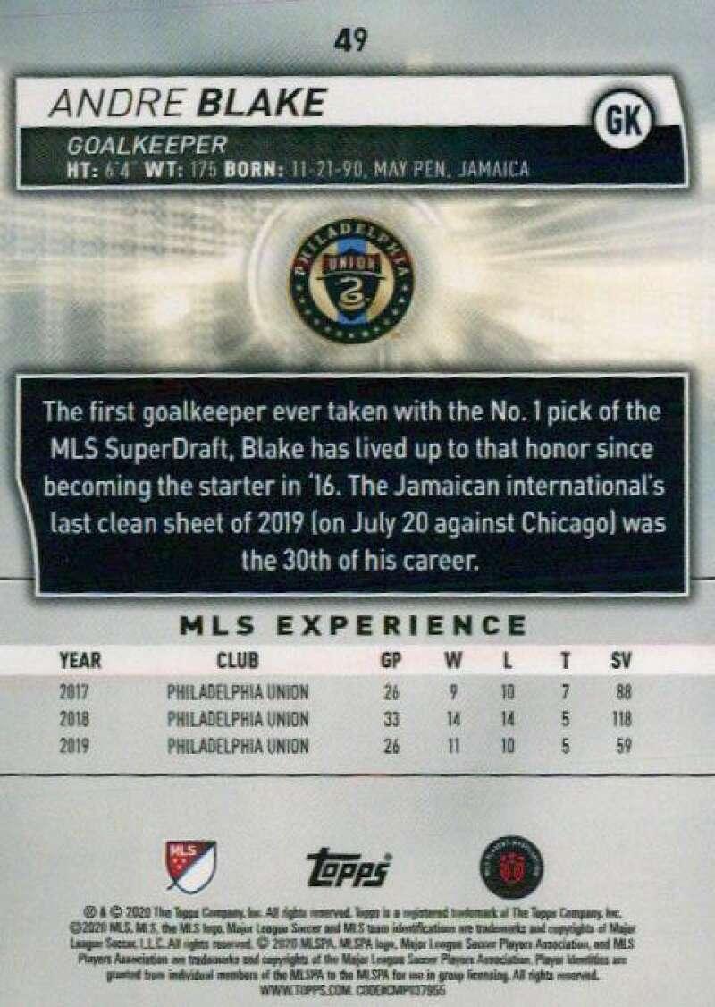 thumbnail 98 - 2020 Topps MLS Soccer Base Singles (Pick Your Cards)