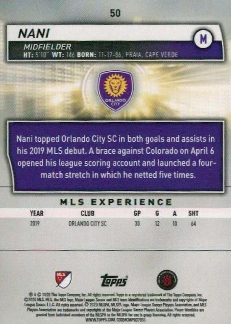 thumbnail 100 - 2020 Topps MLS Soccer Base Singles (Pick Your Cards)
