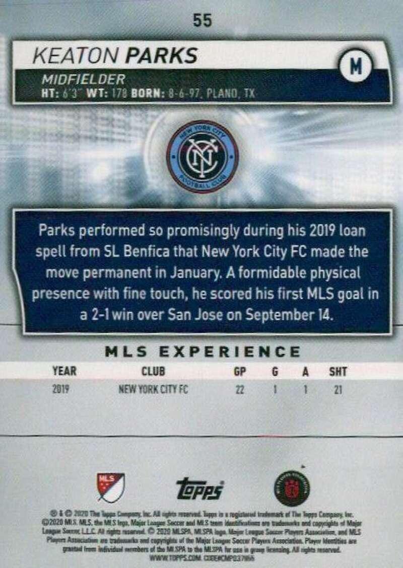 thumbnail 110 - 2020 Topps MLS Soccer Base Singles (Pick Your Cards)