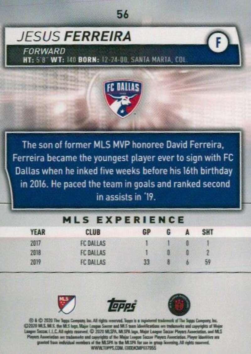 thumbnail 112 - 2020 Topps MLS Soccer Base Singles (Pick Your Cards)