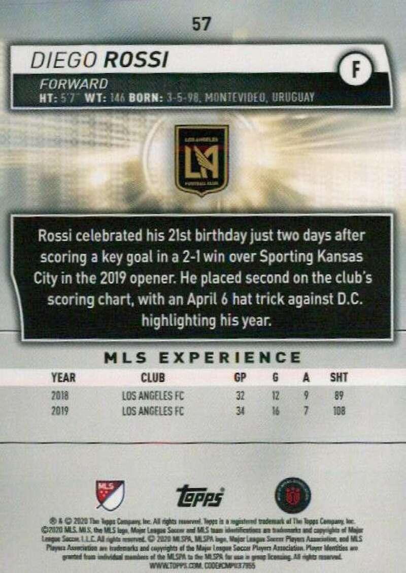 thumbnail 114 - 2020 Topps MLS Soccer Base Singles (Pick Your Cards)