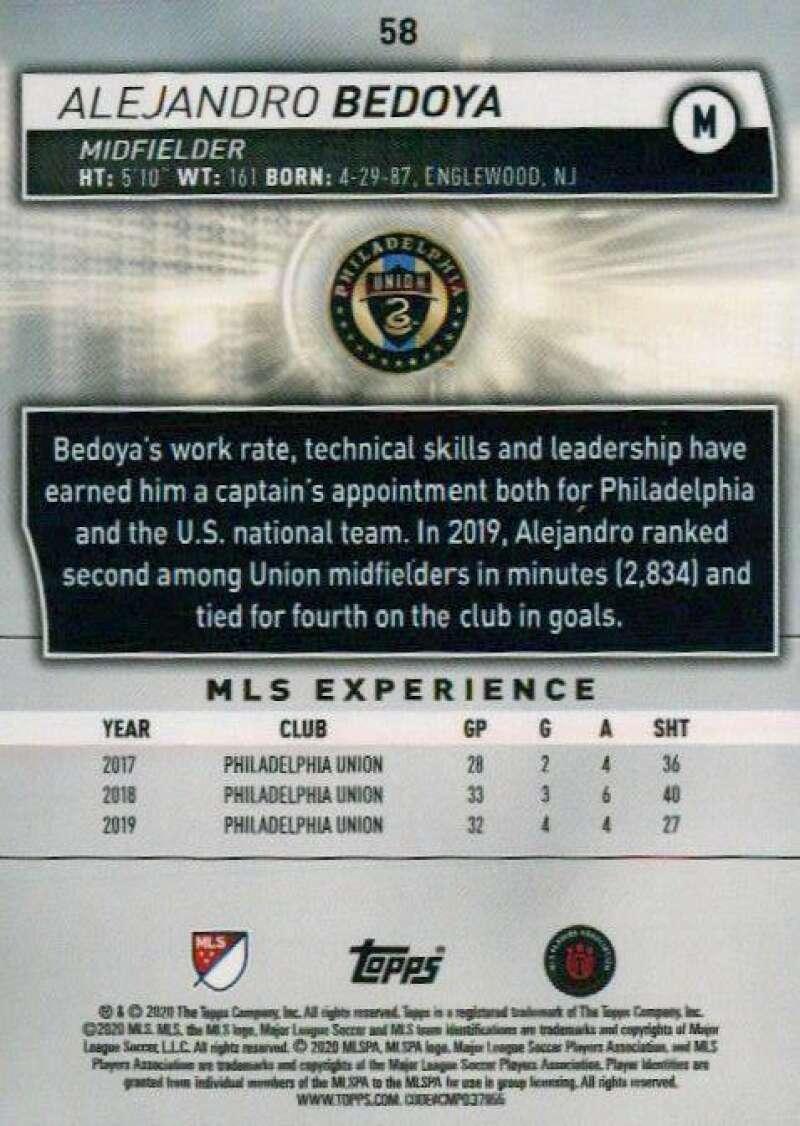 thumbnail 116 - 2020 Topps MLS Soccer Base Singles (Pick Your Cards)
