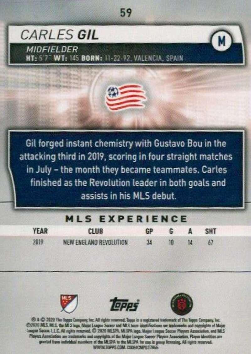 thumbnail 118 - 2020 Topps MLS Soccer Base Singles (Pick Your Cards)