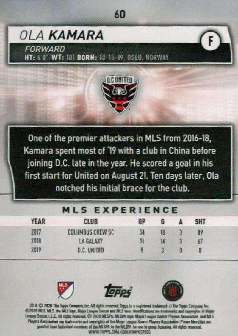 thumbnail 120 - 2020 Topps MLS Soccer Base Singles (Pick Your Cards)