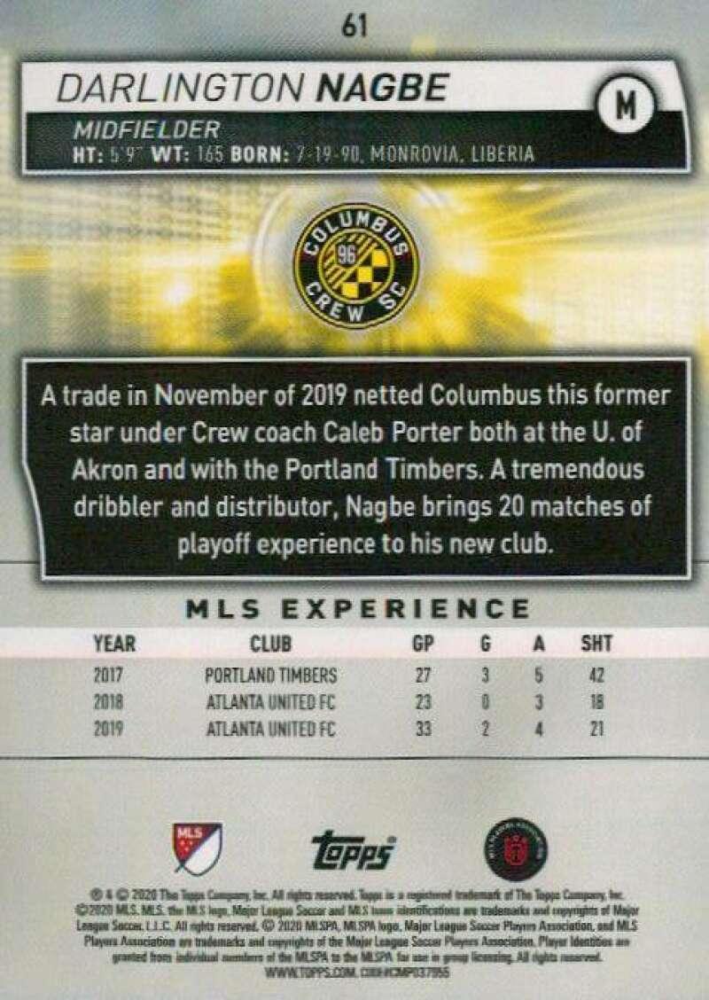 thumbnail 122 - 2020 Topps MLS Soccer Base Singles (Pick Your Cards)