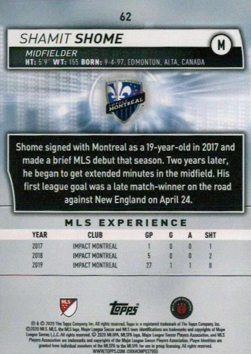 thumbnail 124 - 2020 Topps MLS Soccer Base Singles (Pick Your Cards)