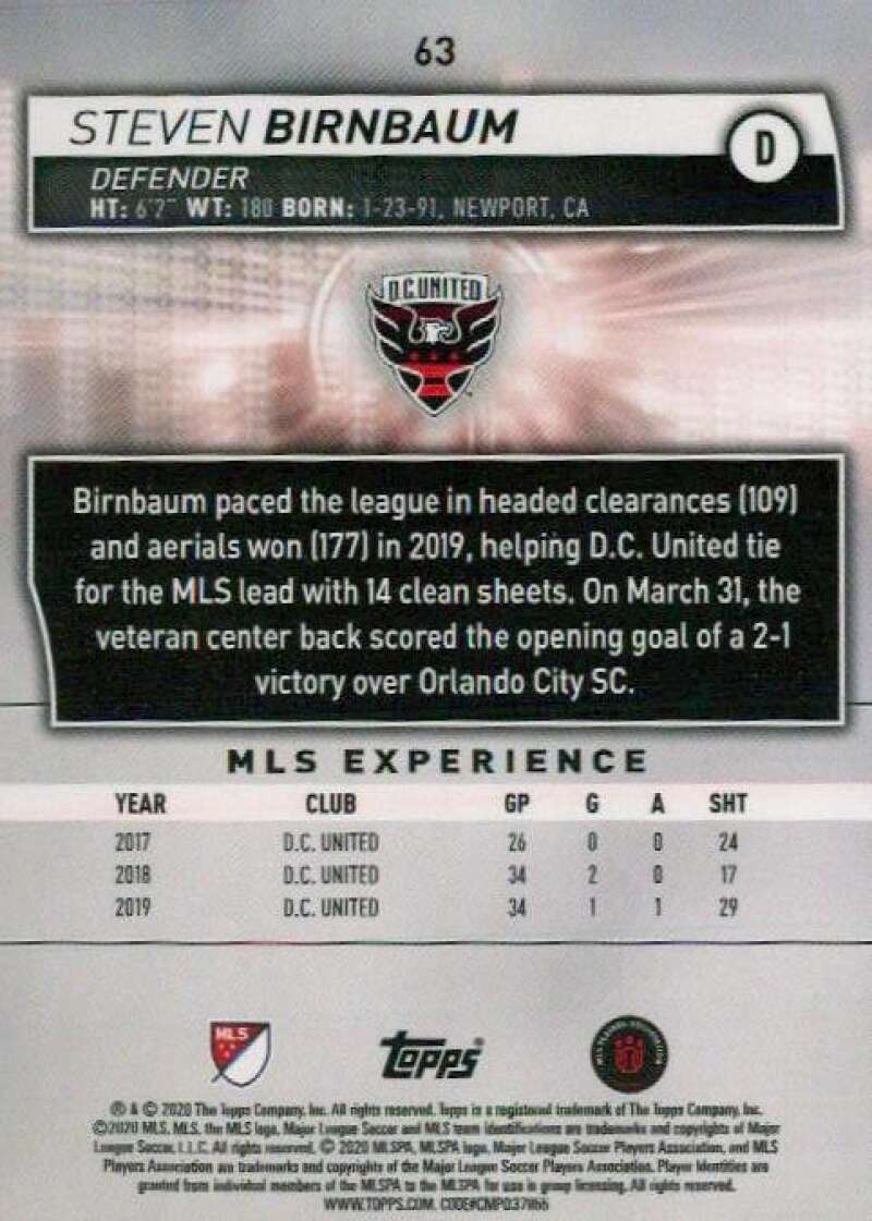 thumbnail 126 - 2020 Topps MLS Soccer Base Singles (Pick Your Cards)
