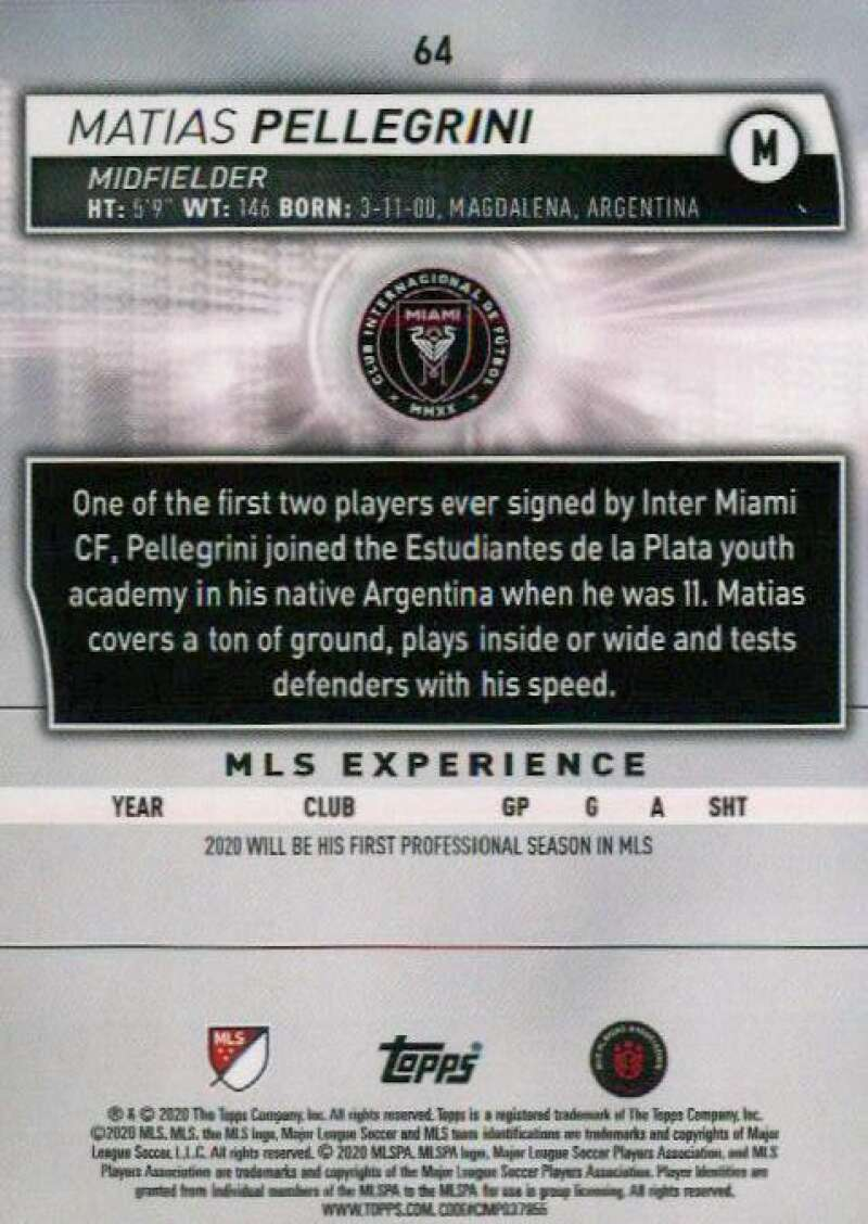 thumbnail 128 - 2020 Topps MLS Soccer Base Singles (Pick Your Cards)