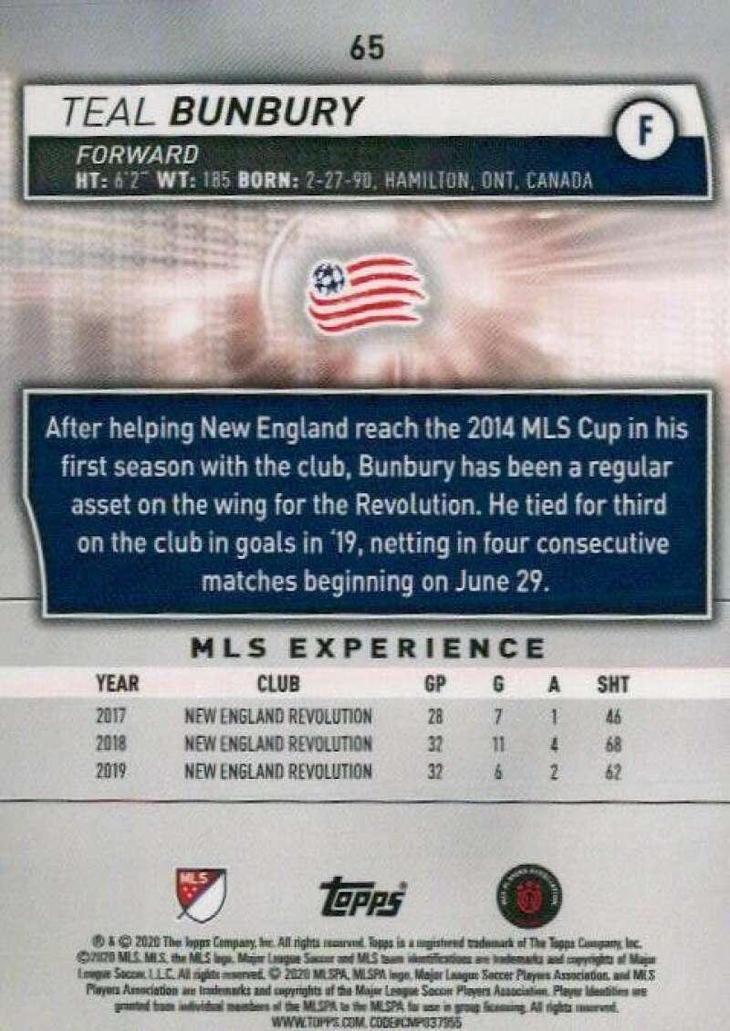 thumbnail 130 - 2020 Topps MLS Soccer Base Singles (Pick Your Cards)
