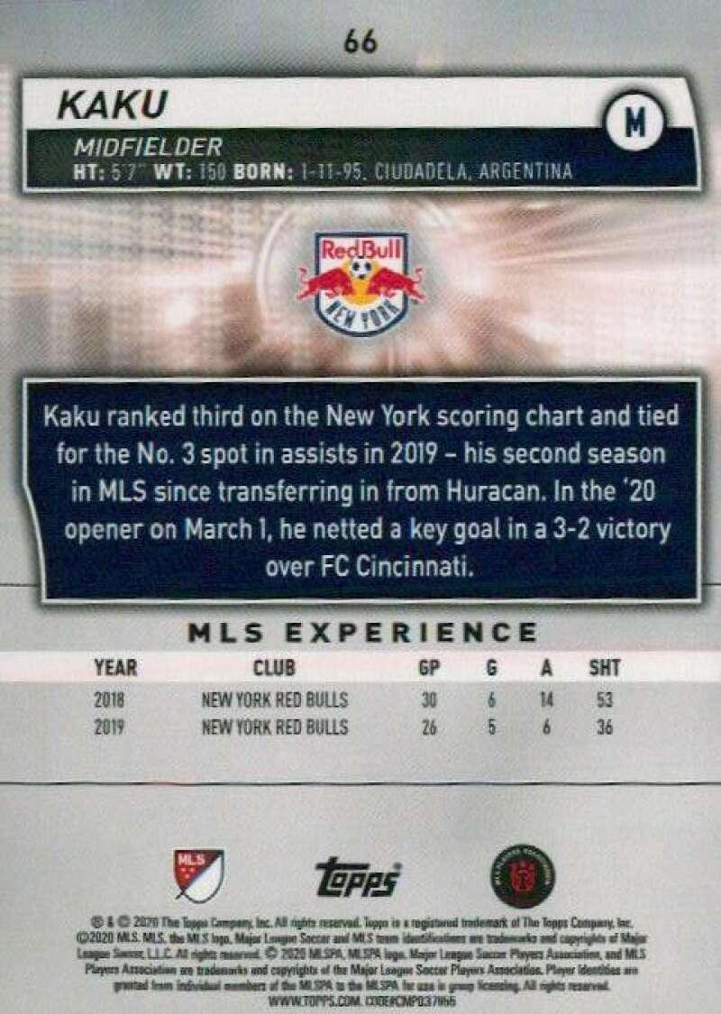 thumbnail 132 - 2020 Topps MLS Soccer Base Singles (Pick Your Cards)