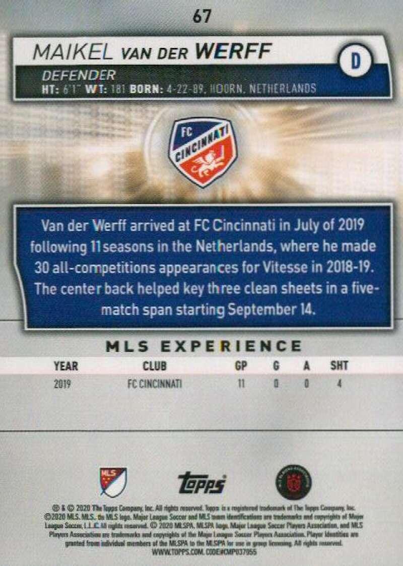thumbnail 134 - 2020 Topps MLS Soccer Base Singles (Pick Your Cards)