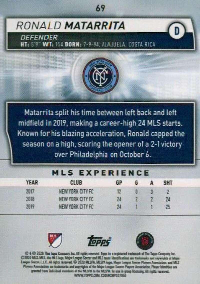 thumbnail 138 - 2020 Topps MLS Soccer Base Singles (Pick Your Cards)