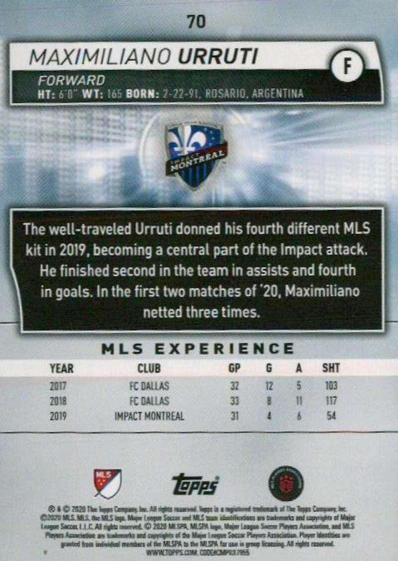 thumbnail 140 - 2020 Topps MLS Soccer Base Singles (Pick Your Cards)
