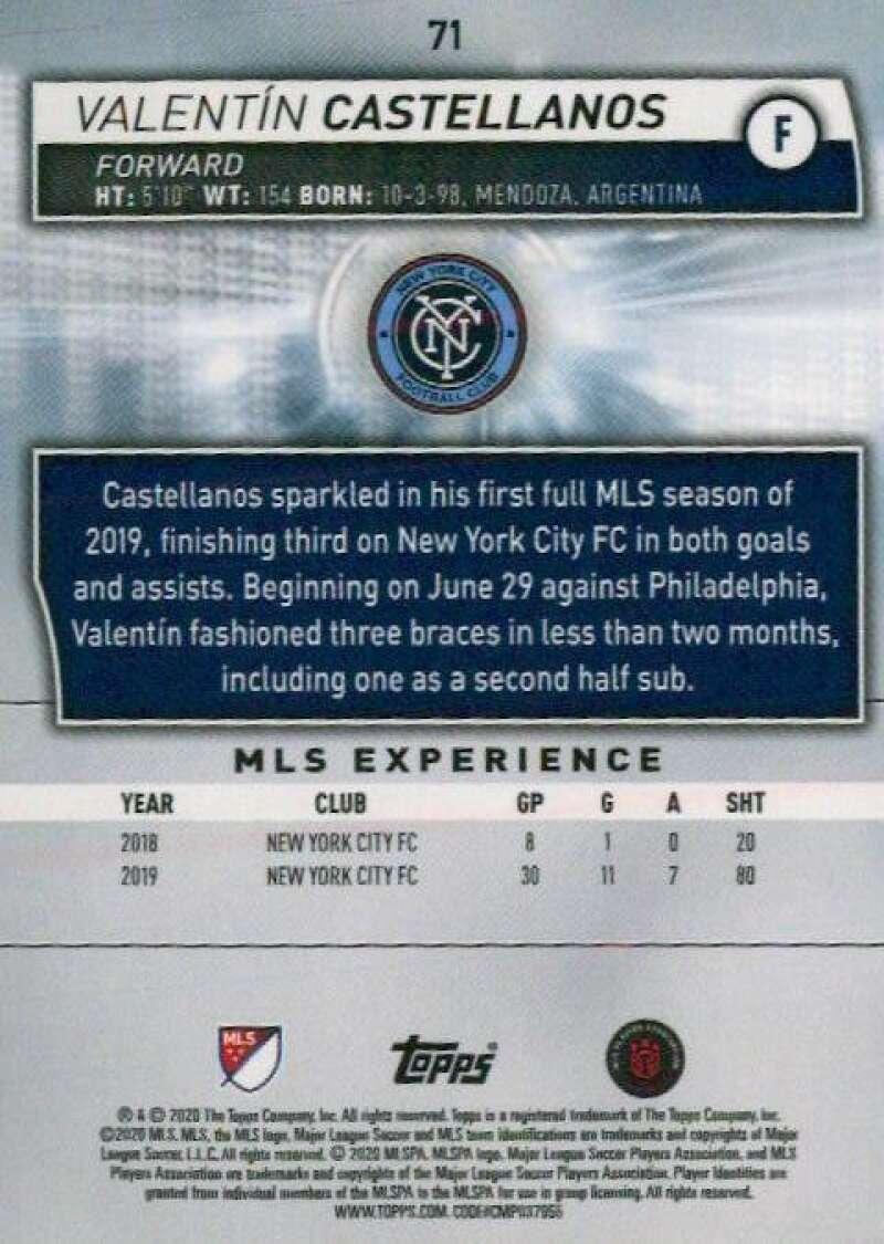 thumbnail 142 - 2020 Topps MLS Soccer Base Singles (Pick Your Cards)