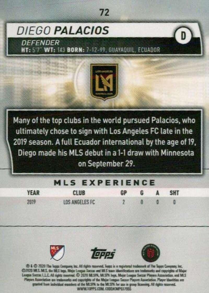 thumbnail 144 - 2020 Topps MLS Soccer Base Singles (Pick Your Cards)