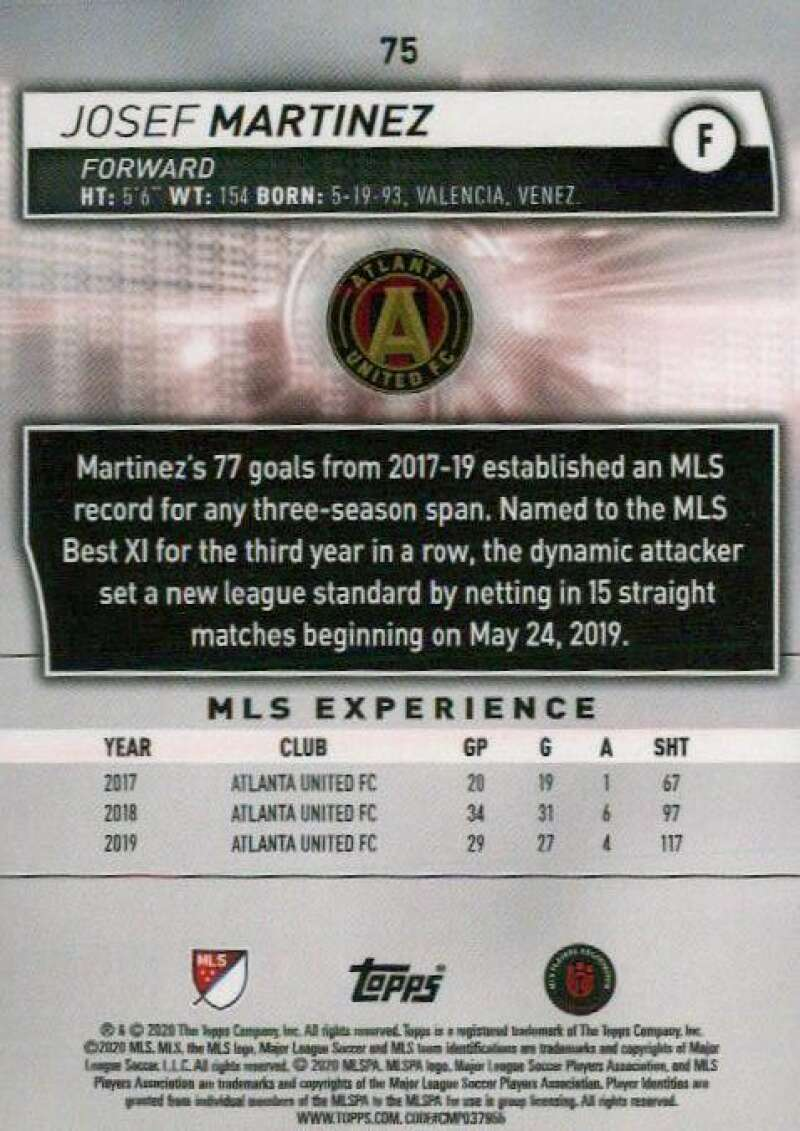 thumbnail 150 - 2020 Topps MLS Soccer Base Singles (Pick Your Cards)