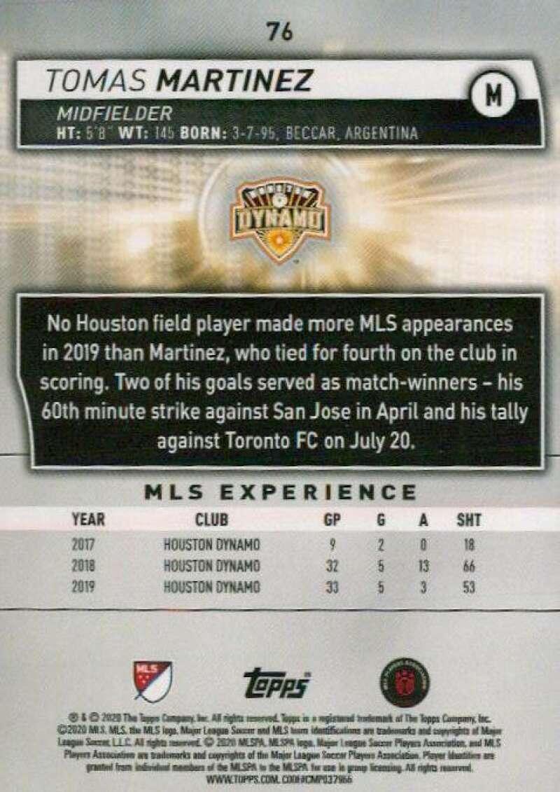 thumbnail 152 - 2020 Topps MLS Soccer Base Singles (Pick Your Cards)
