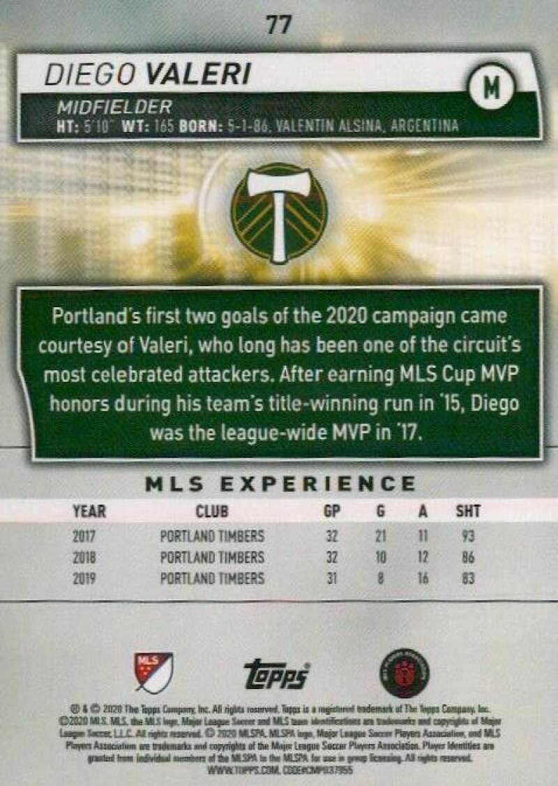 thumbnail 154 - 2020 Topps MLS Soccer Base Singles (Pick Your Cards)