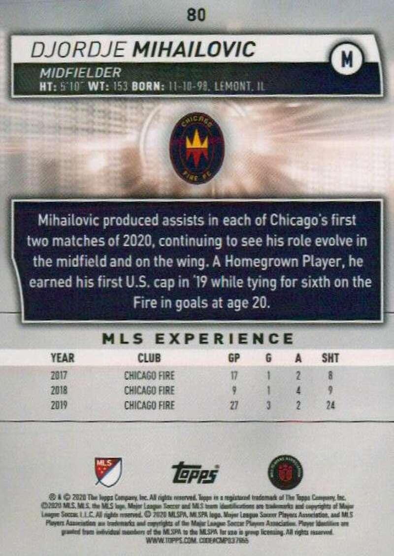 thumbnail 160 - 2020 Topps MLS Soccer Base Singles (Pick Your Cards)