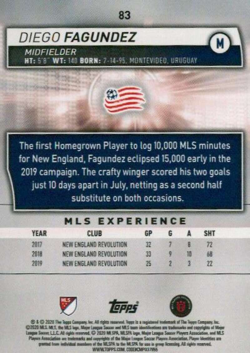 thumbnail 166 - 2020 Topps MLS Soccer Base Singles (Pick Your Cards)