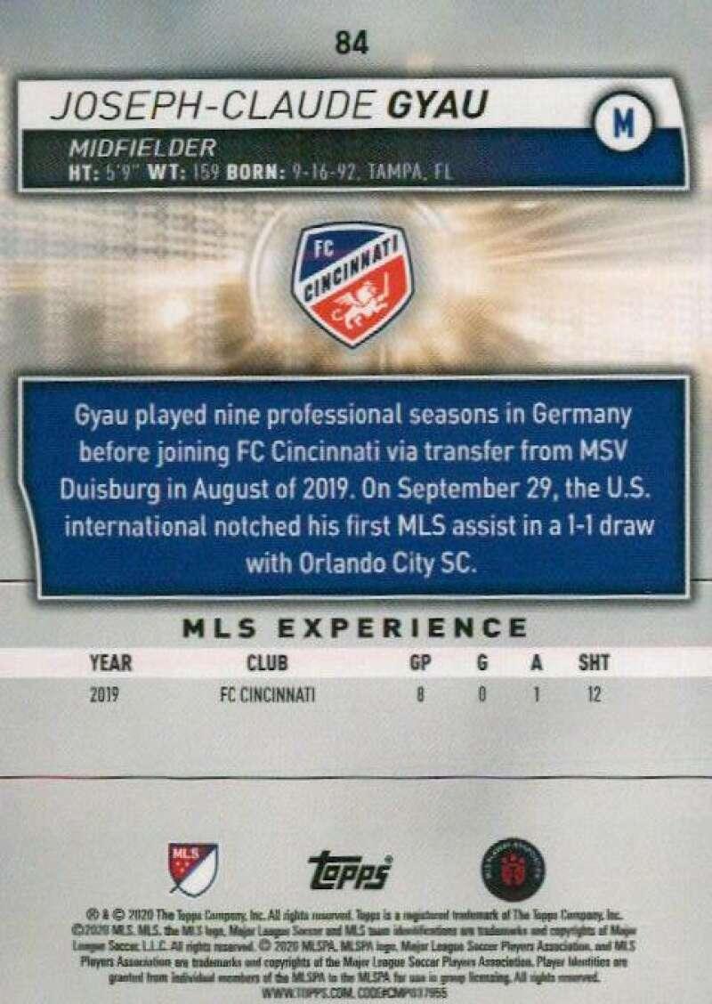 thumbnail 168 - 2020 Topps MLS Soccer Base Singles (Pick Your Cards)